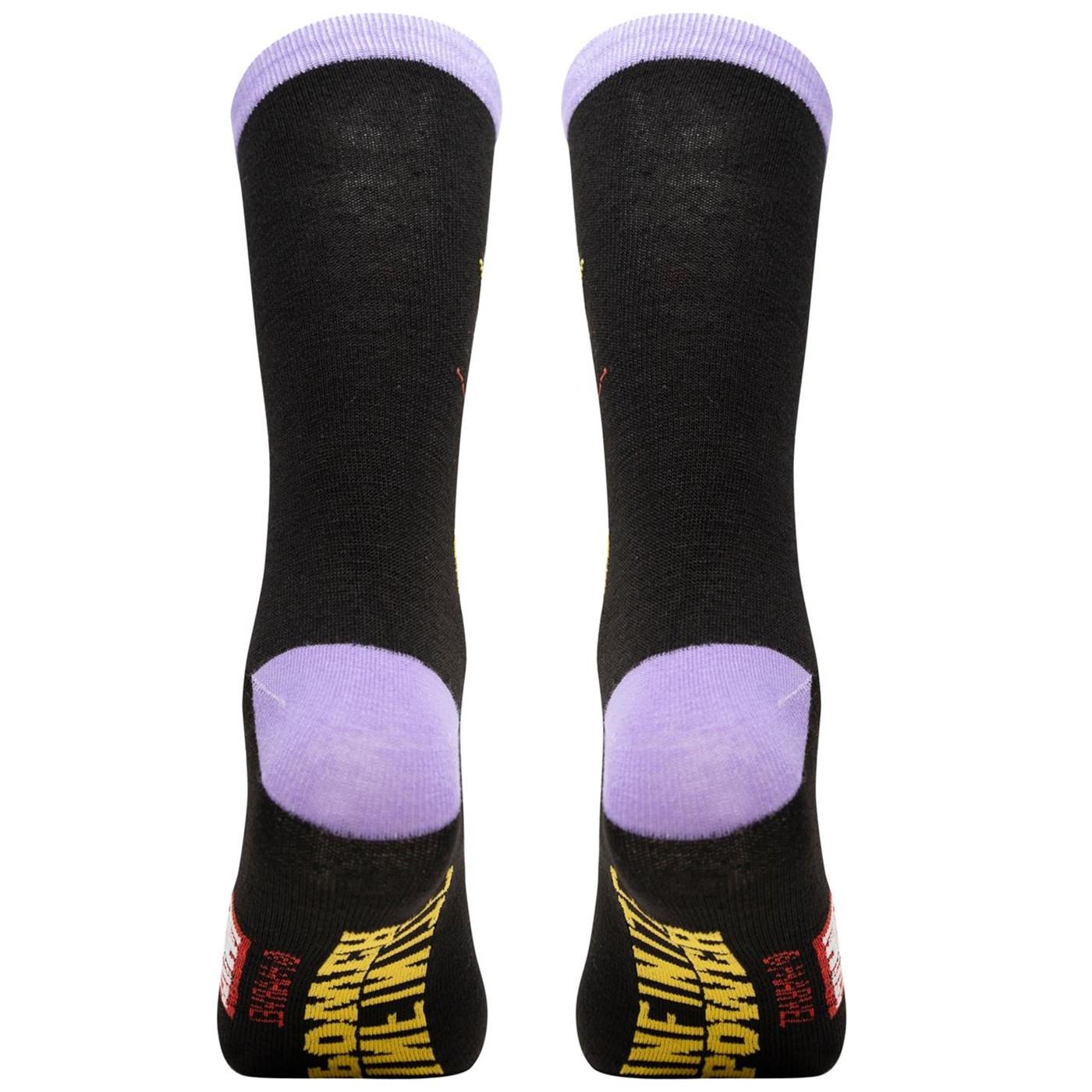 Thanos Infinite Power Crew Sock
