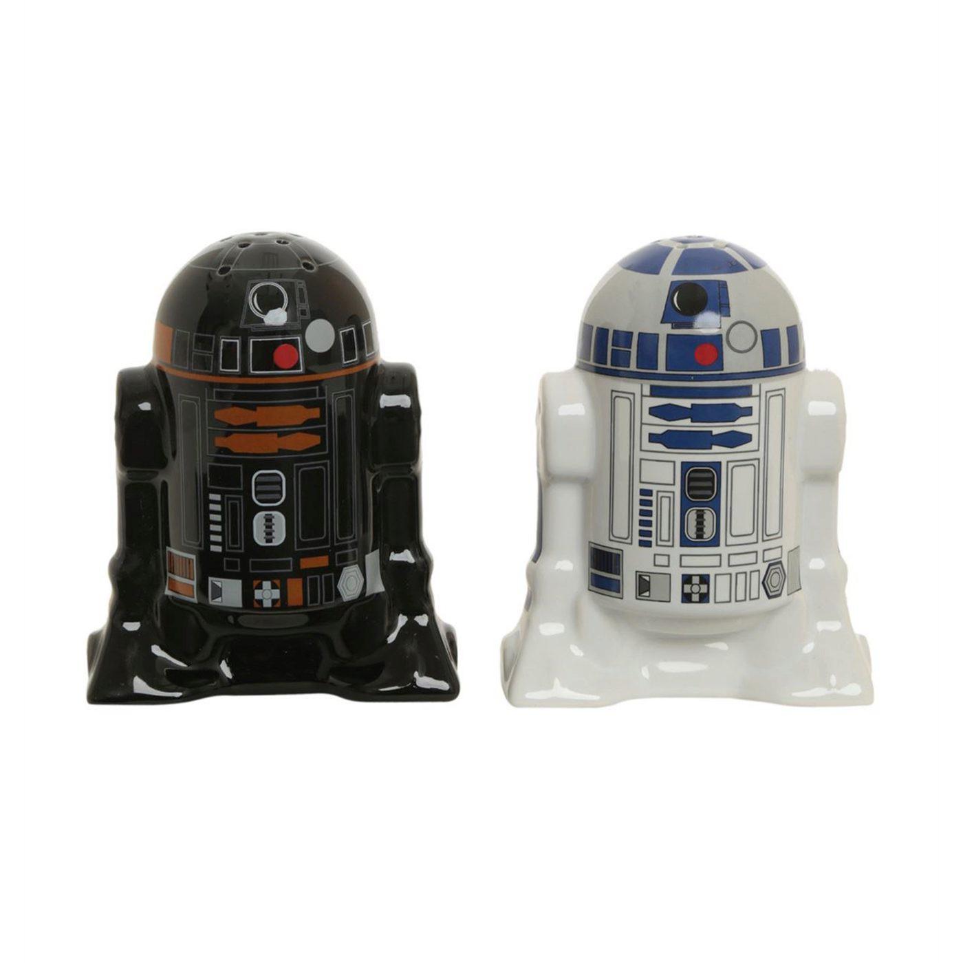 Star Wars R2D2 & R2Q5 Salt & Pepper Shakers