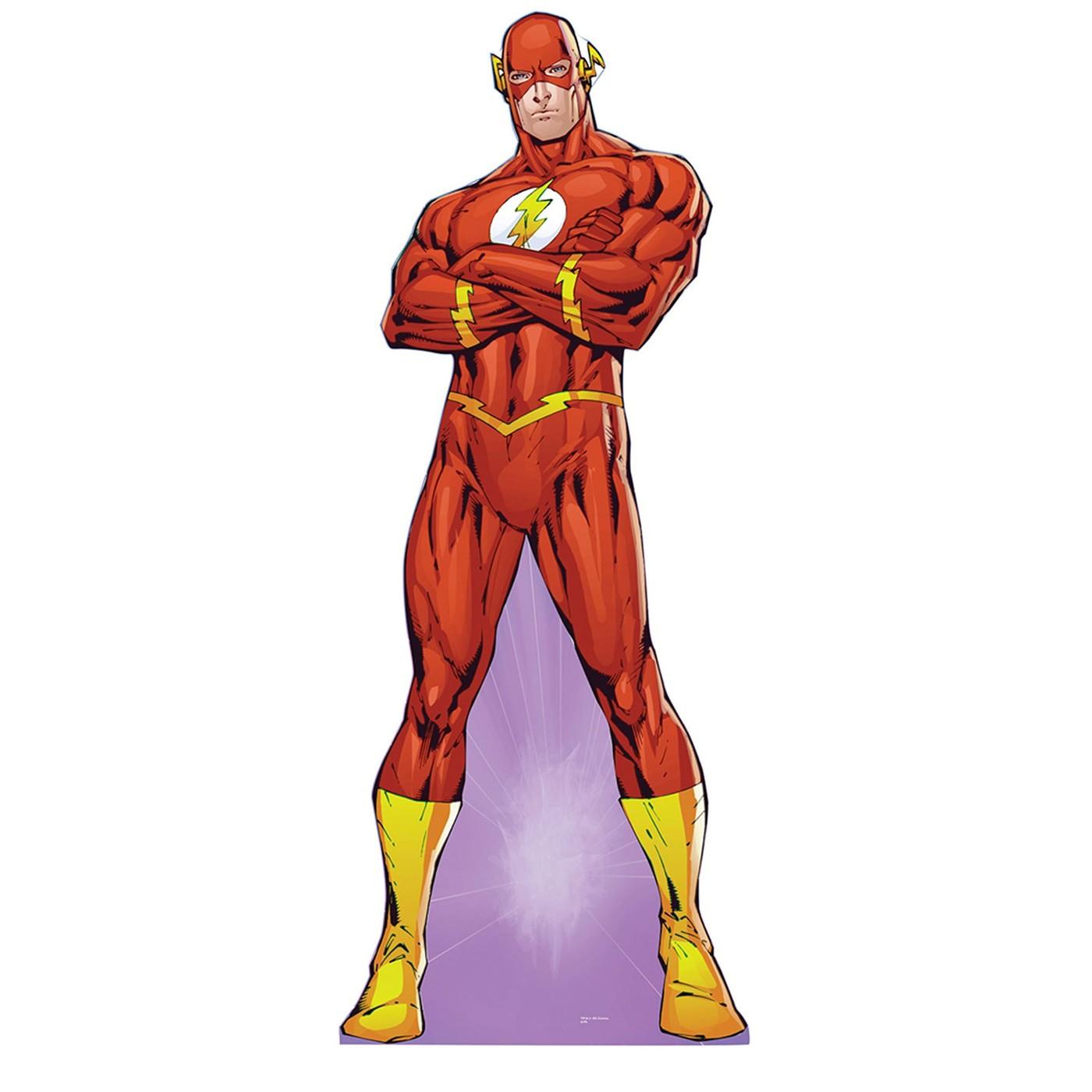 "Flash Wally West Standing 72"" Cardboard Cutout"