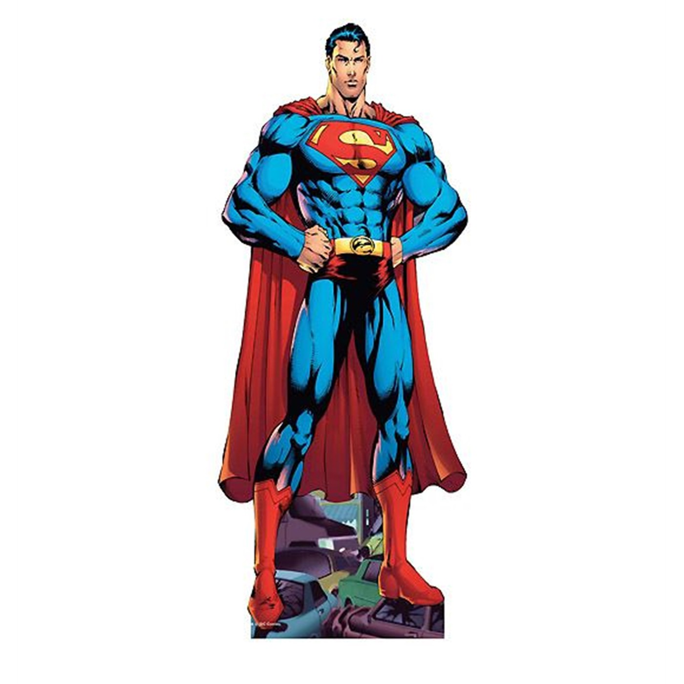 "Superman by Ed Benes 72"" Cardboard Cutout"