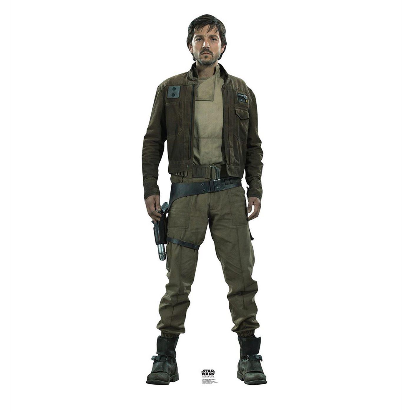 Star Wars Rogue One Captain Cassain Andor Cutout