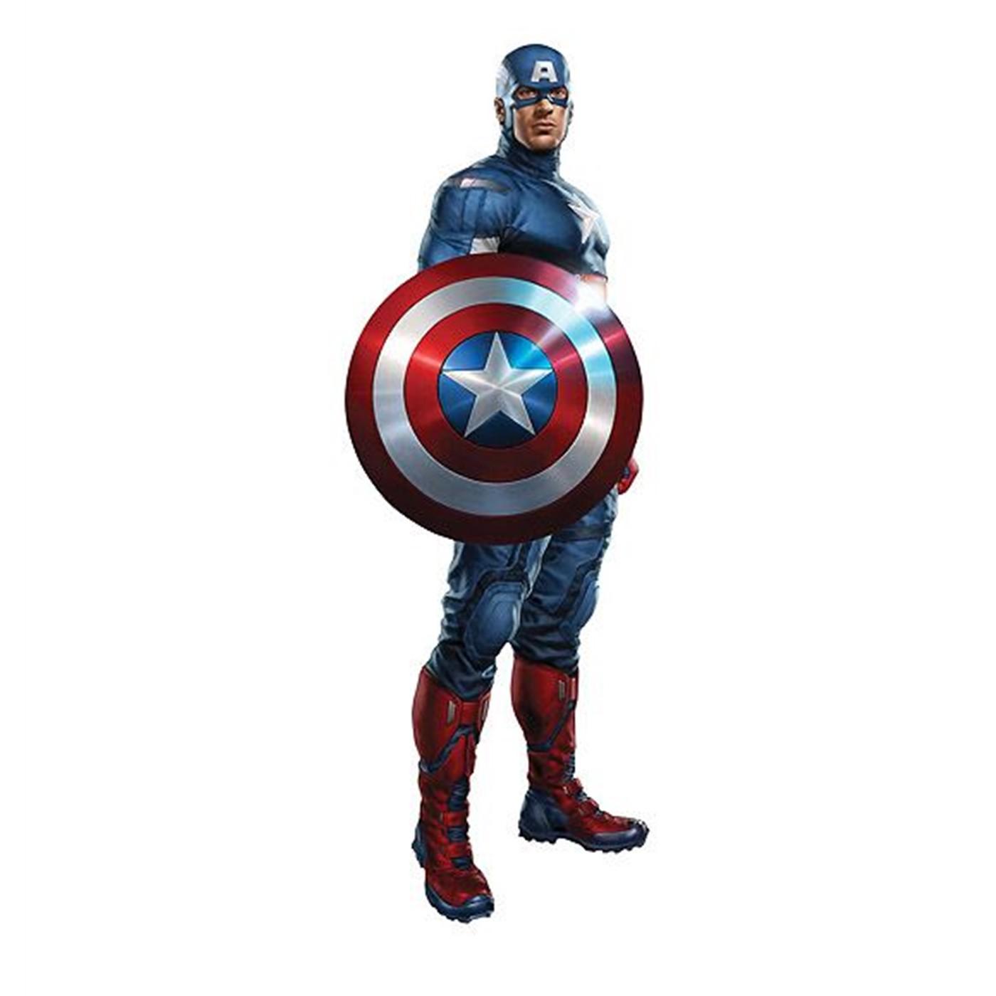 The Avengers Movie Captain America Cardboard Standup