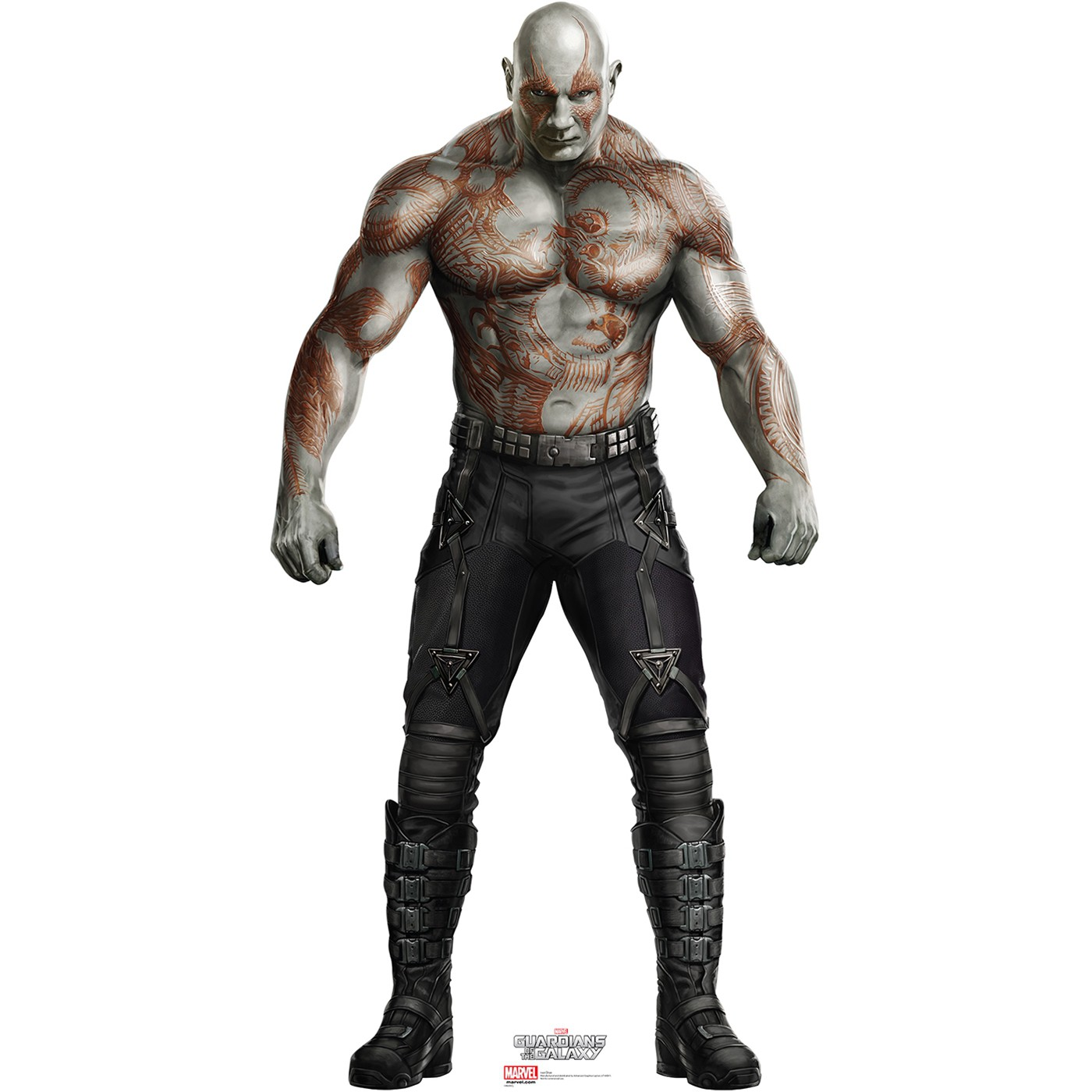 GOTG Drax The Destroyer Cardboard Cutout
