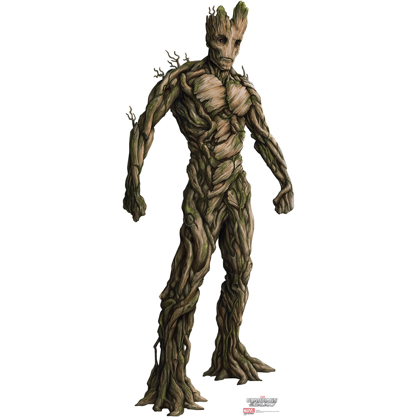 Guardians of the Galaxy Groot Cardboard Cutout