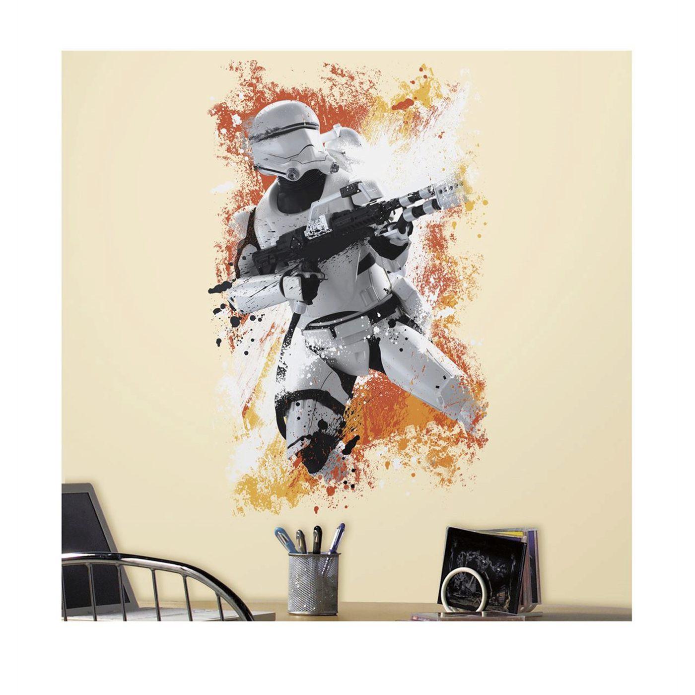 Star Wars Ep. VII Flametrooper Giant Wall Decal