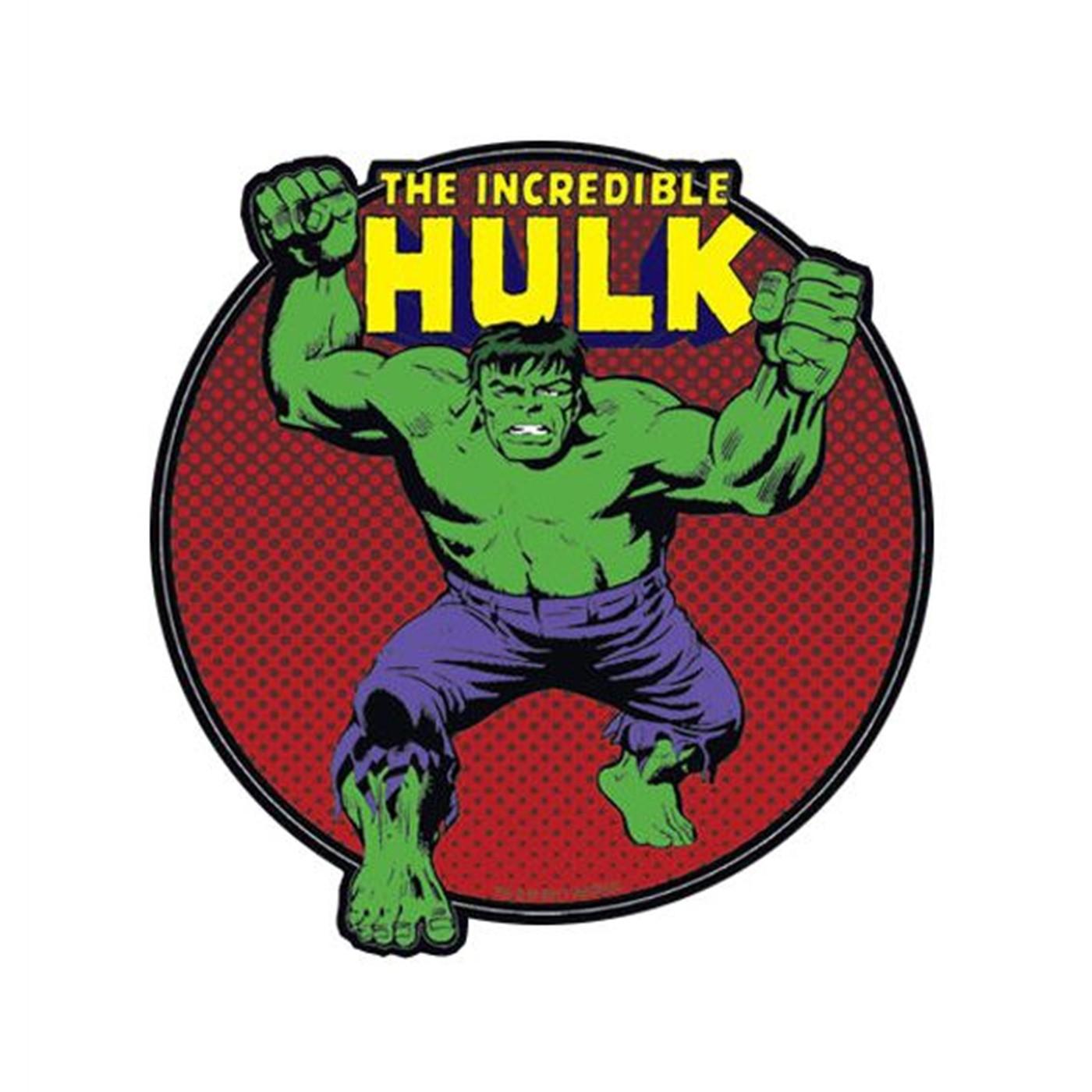 Hulk Logo Stance Sticker