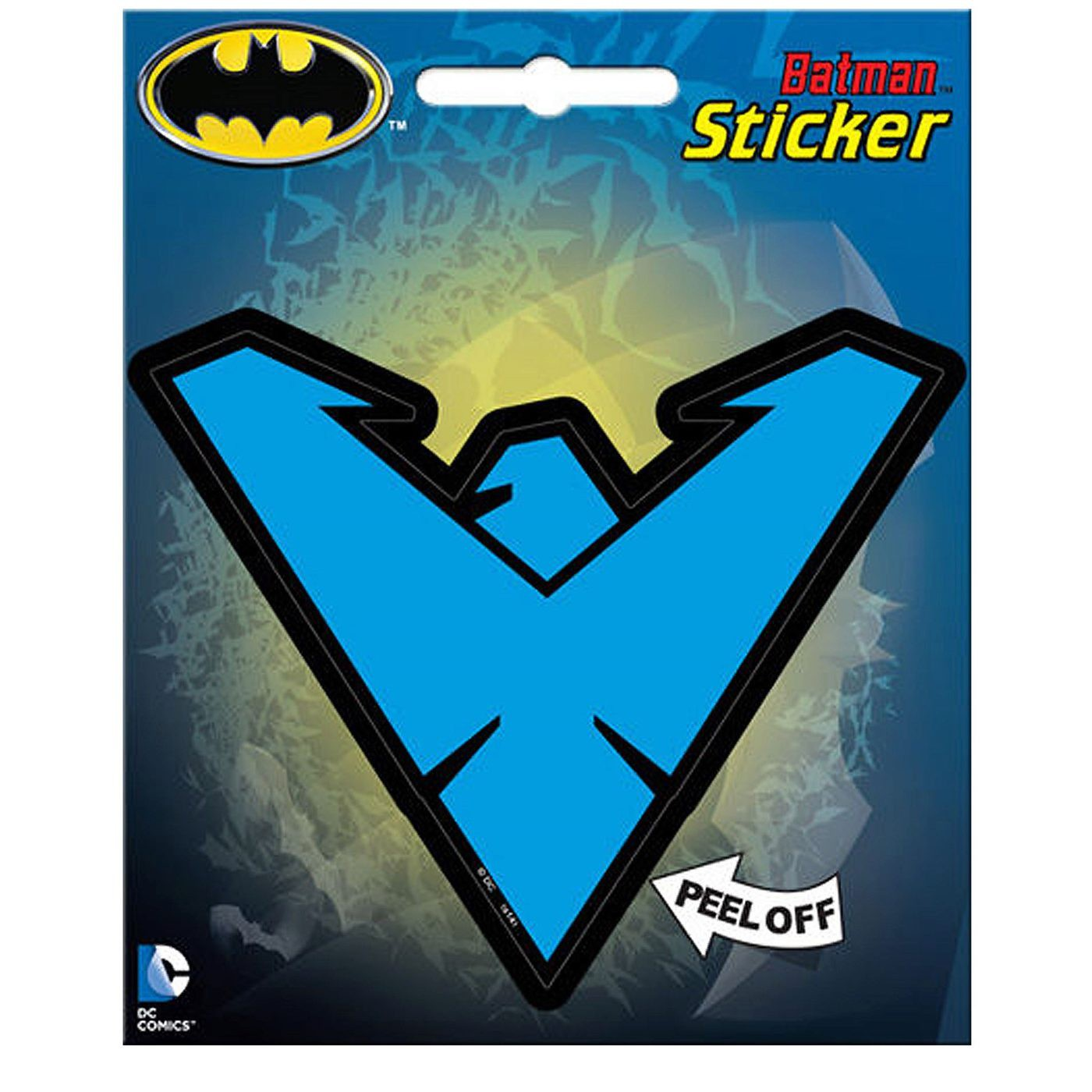 Nightwing Blue Symbol Sticker