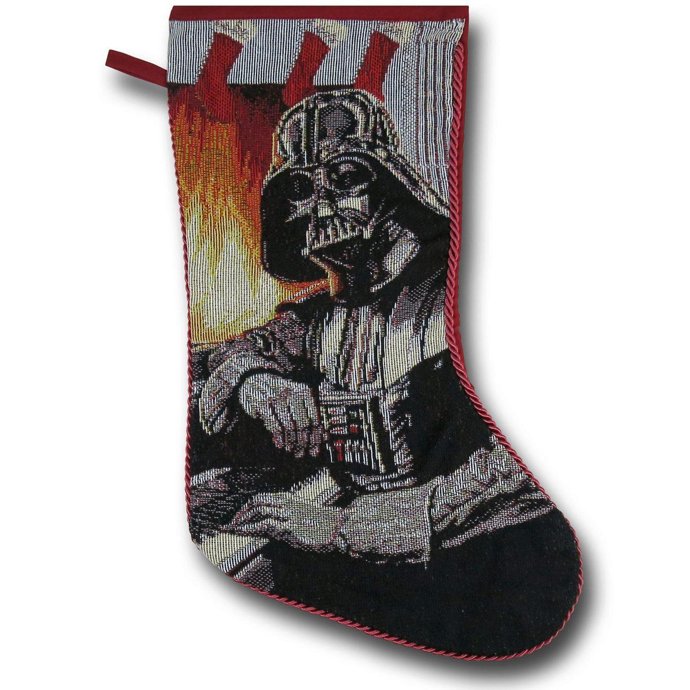 Star Wars Darth Vader Fire Christmas Stocking