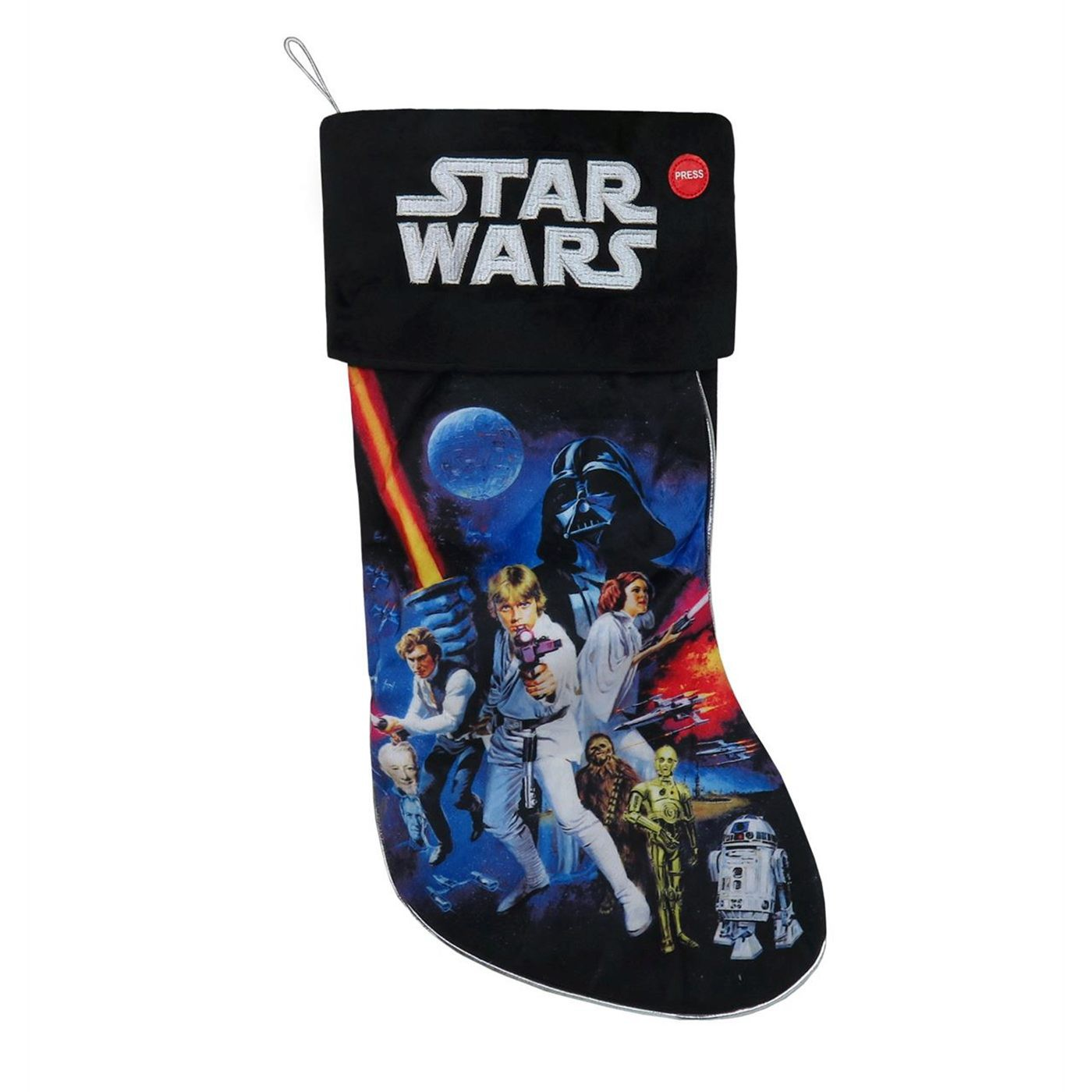 Star Wars Light-Up Christmas Stocking