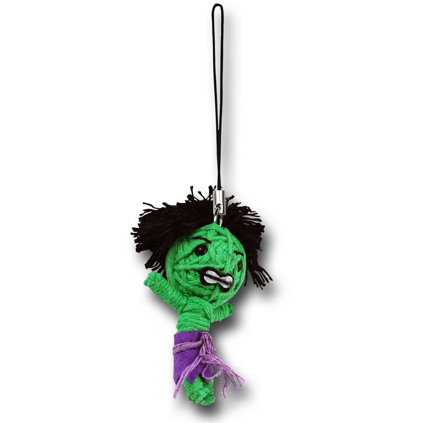 Hulk String Doll Keychain