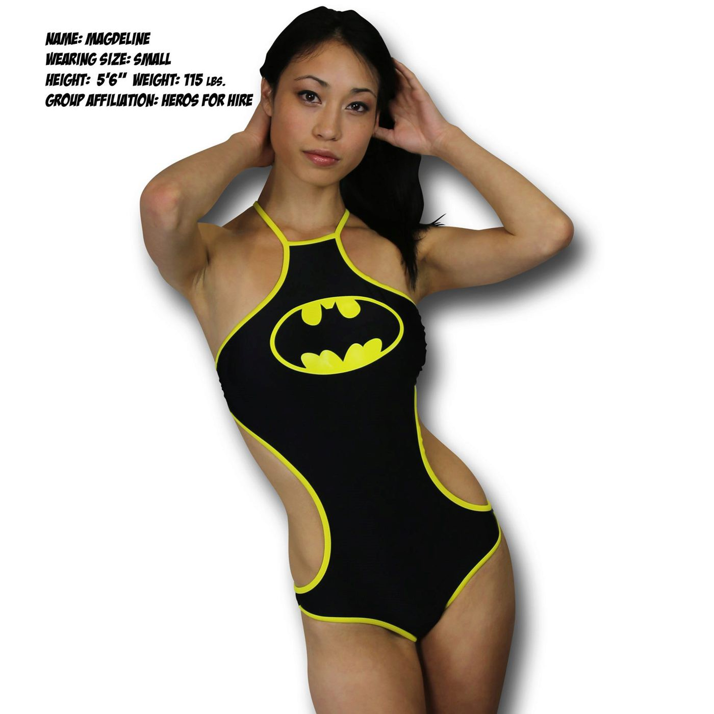 Batman High-Neck Halter Monokini