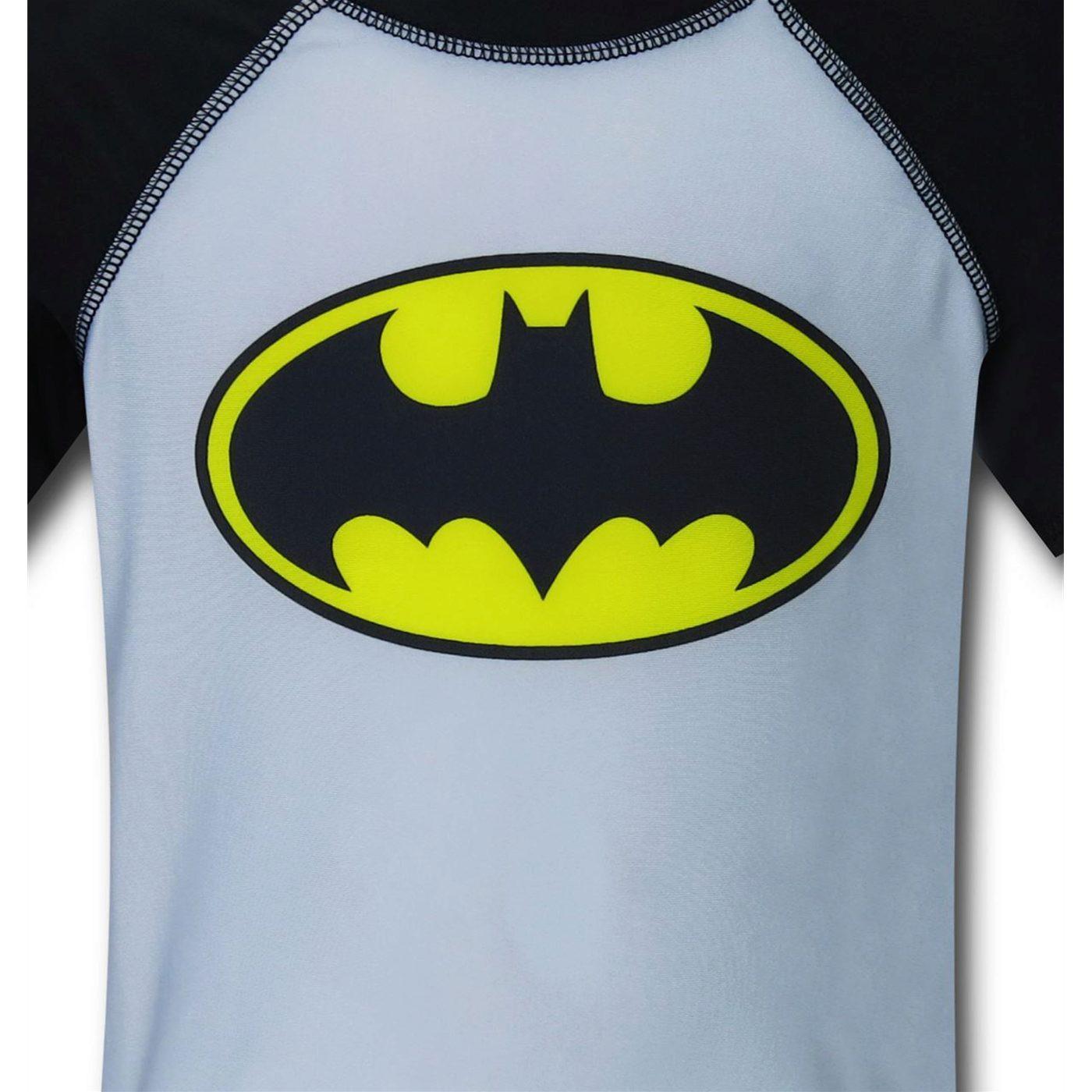 Batman Symbol Kids Rash Guard