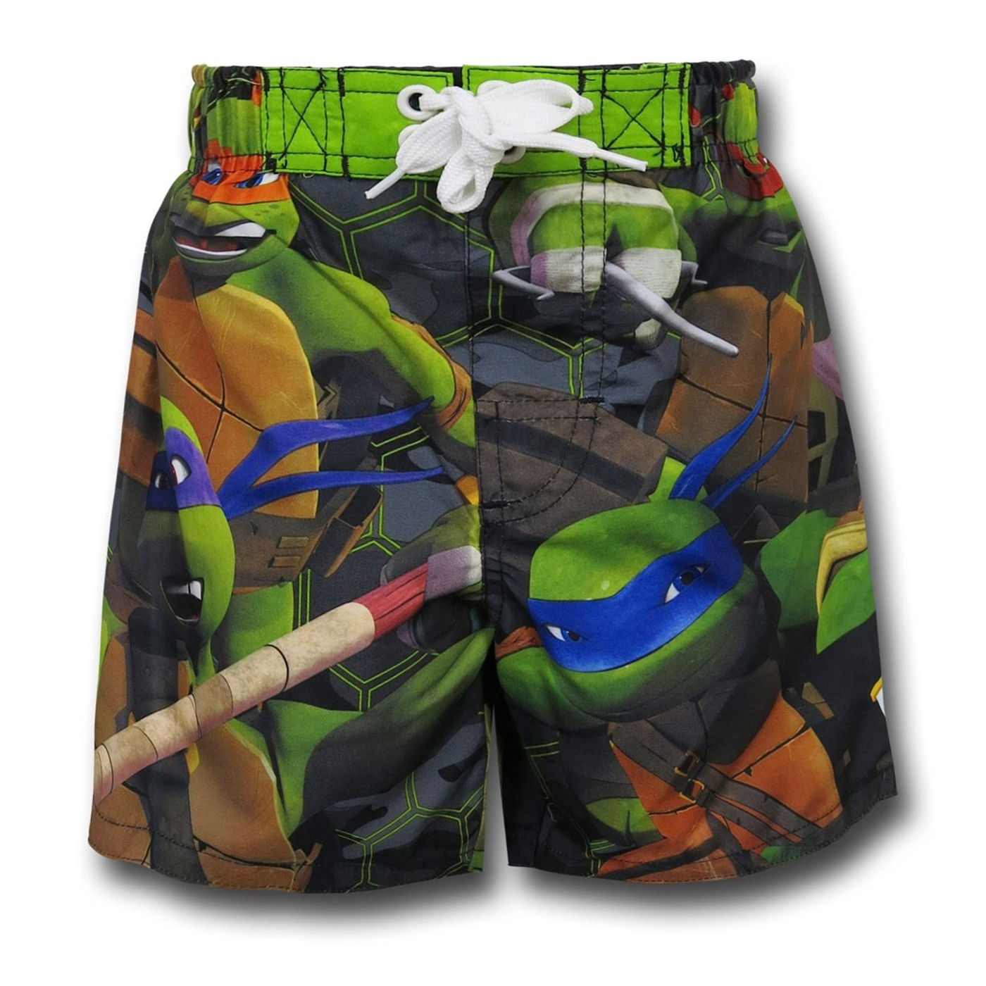 TMNT Kids Swim Trunks