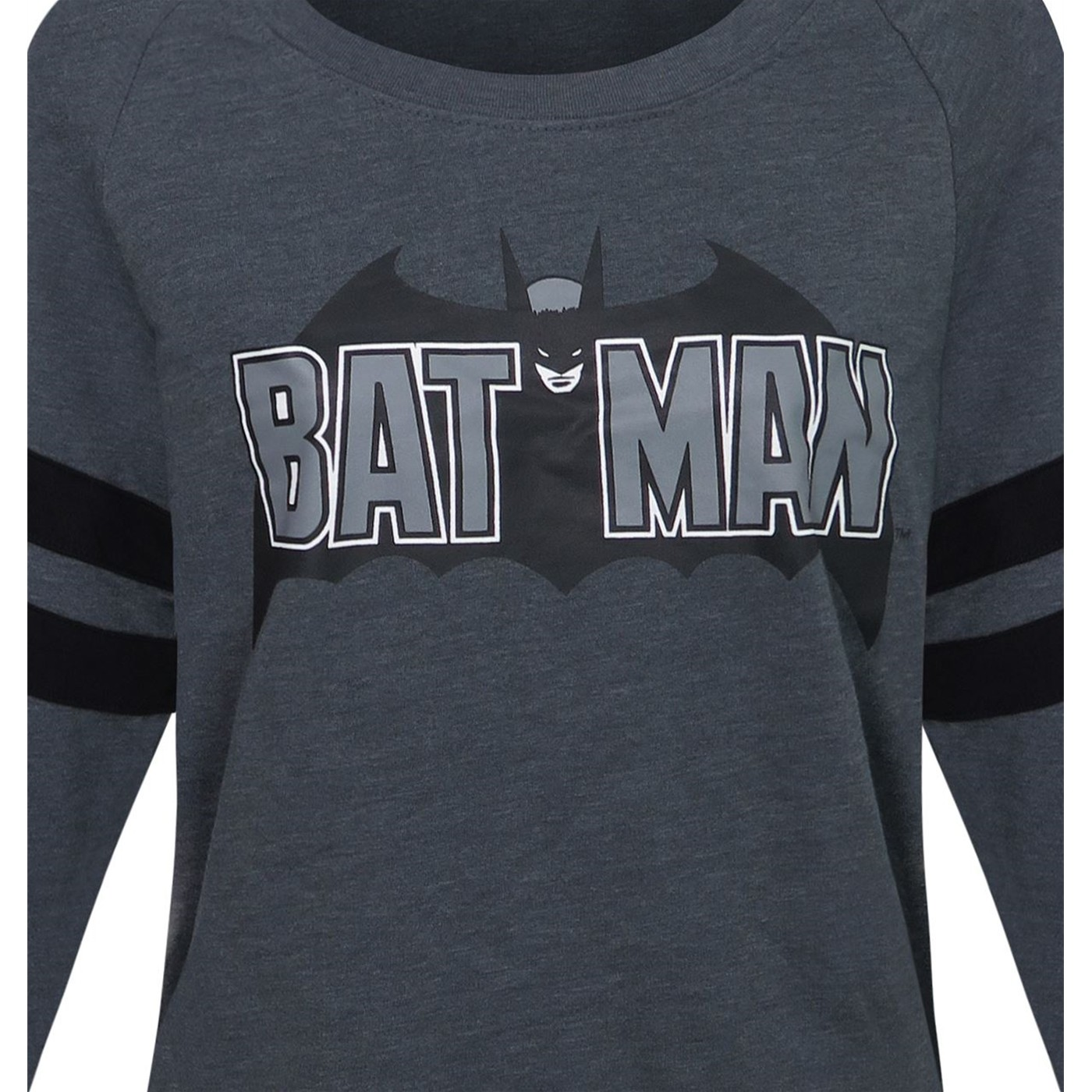 Batman Athletic Women's Sweater with Beanie