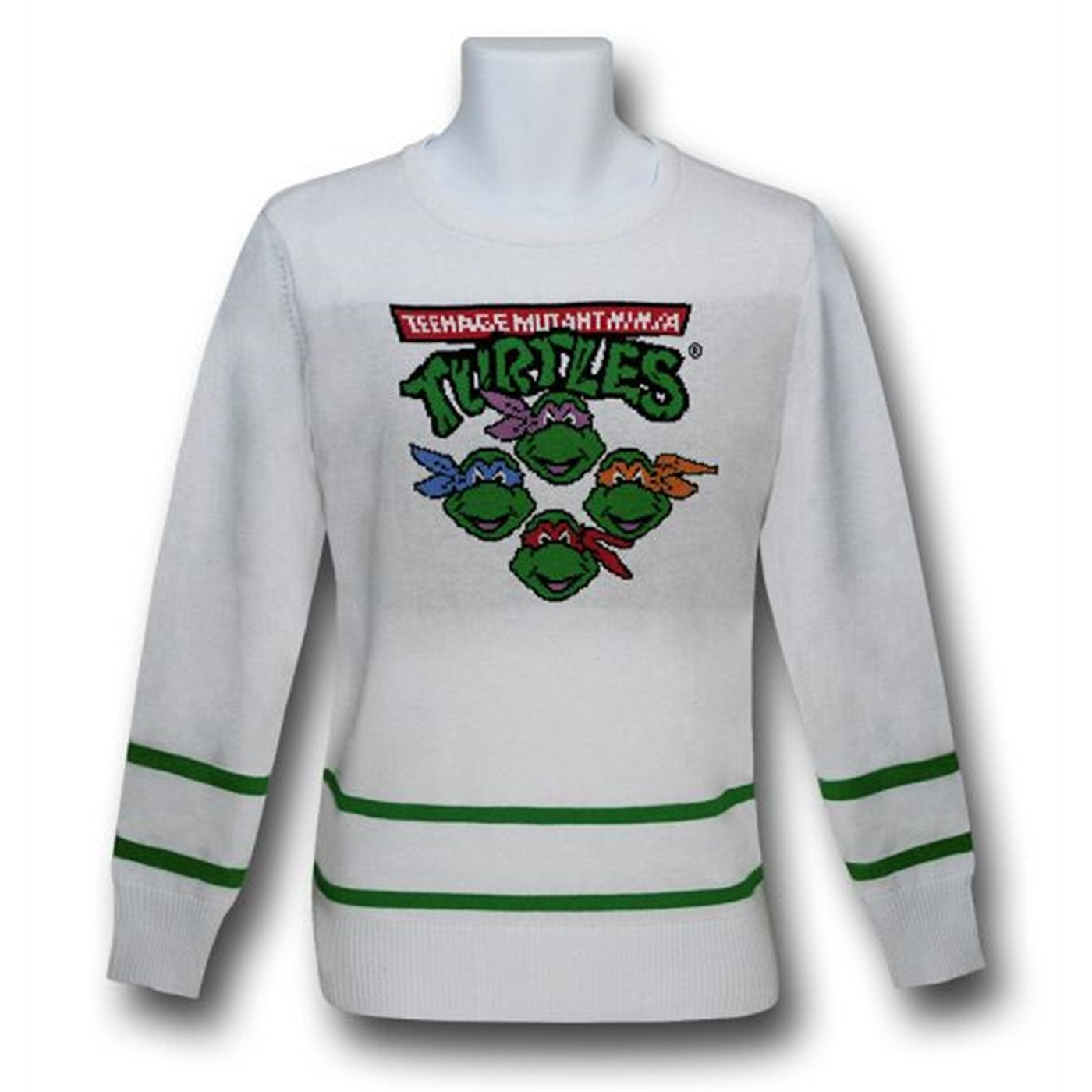 TMNT White Sweater