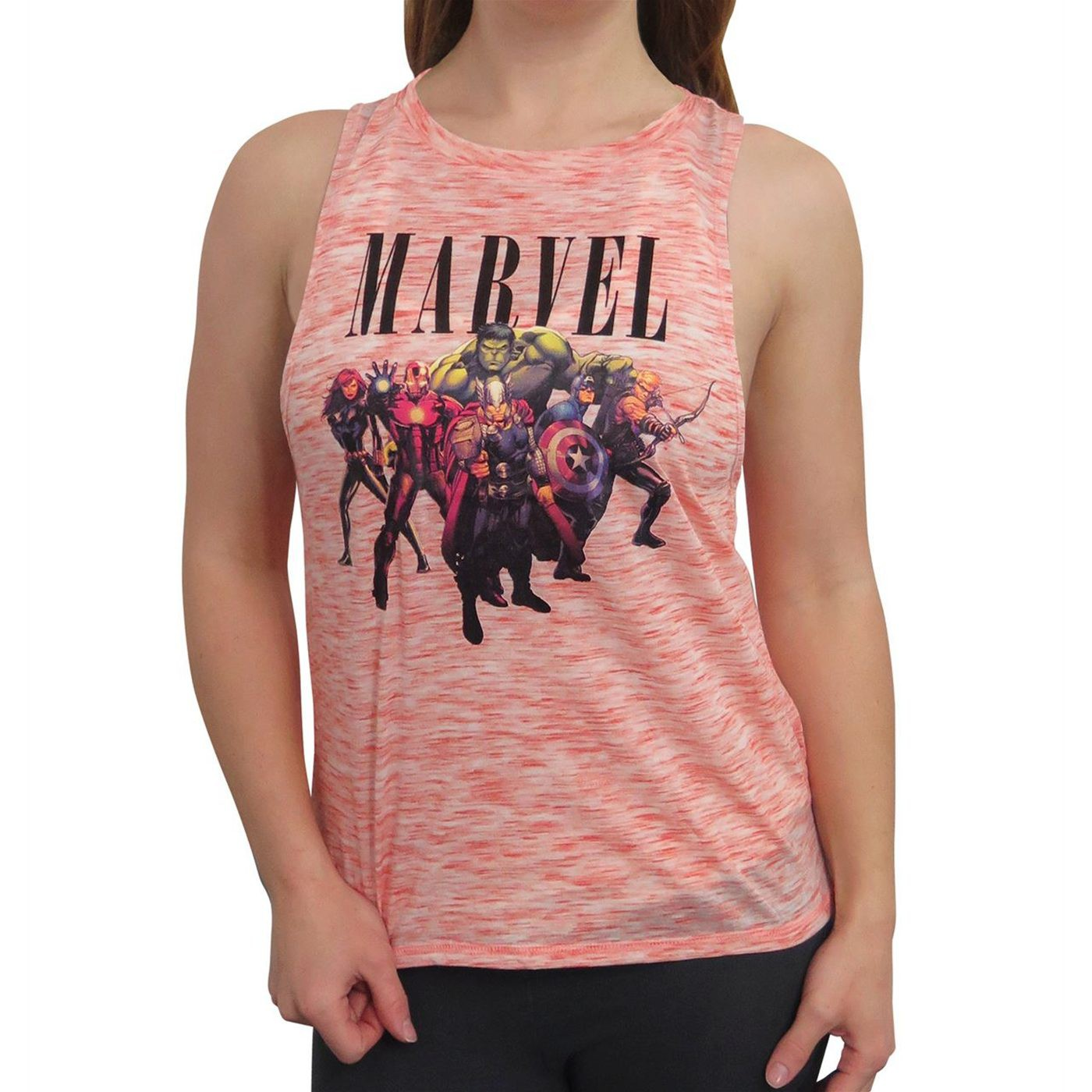 Marvel Avengers Space Dye Women's Tank Top