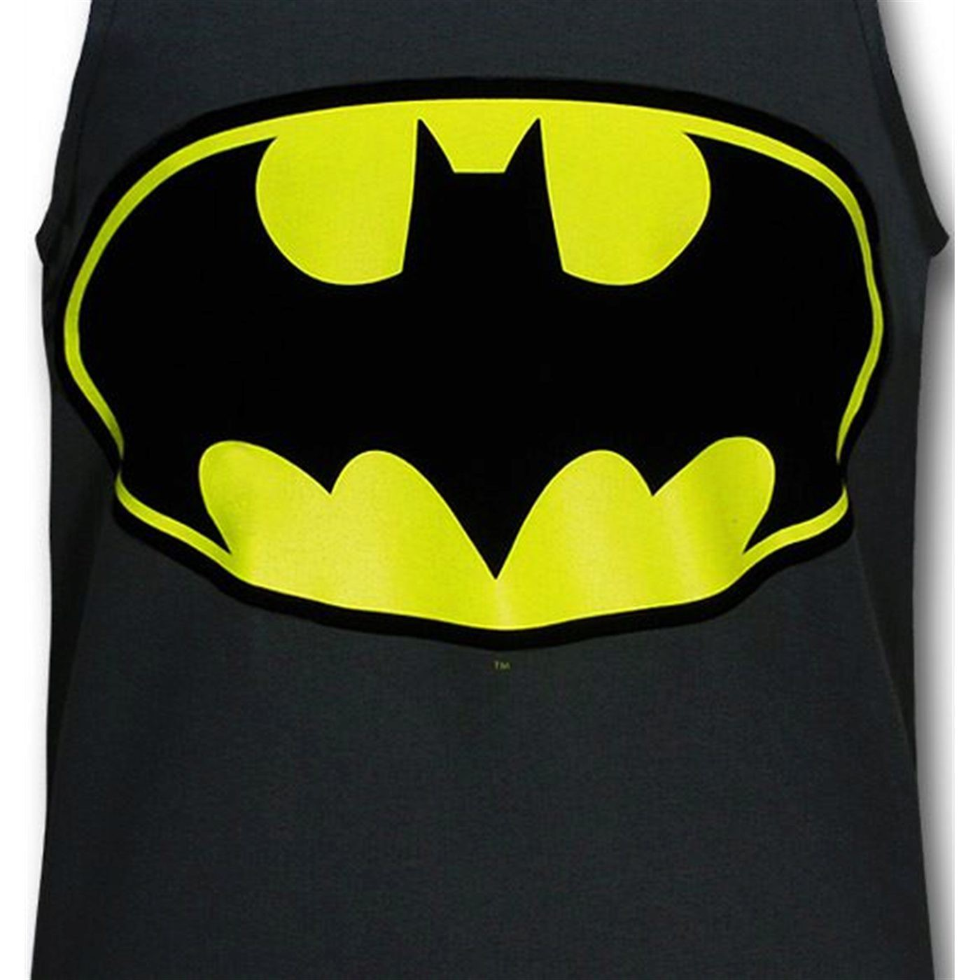 Batman Symbol Charcoal Men's Tank Top