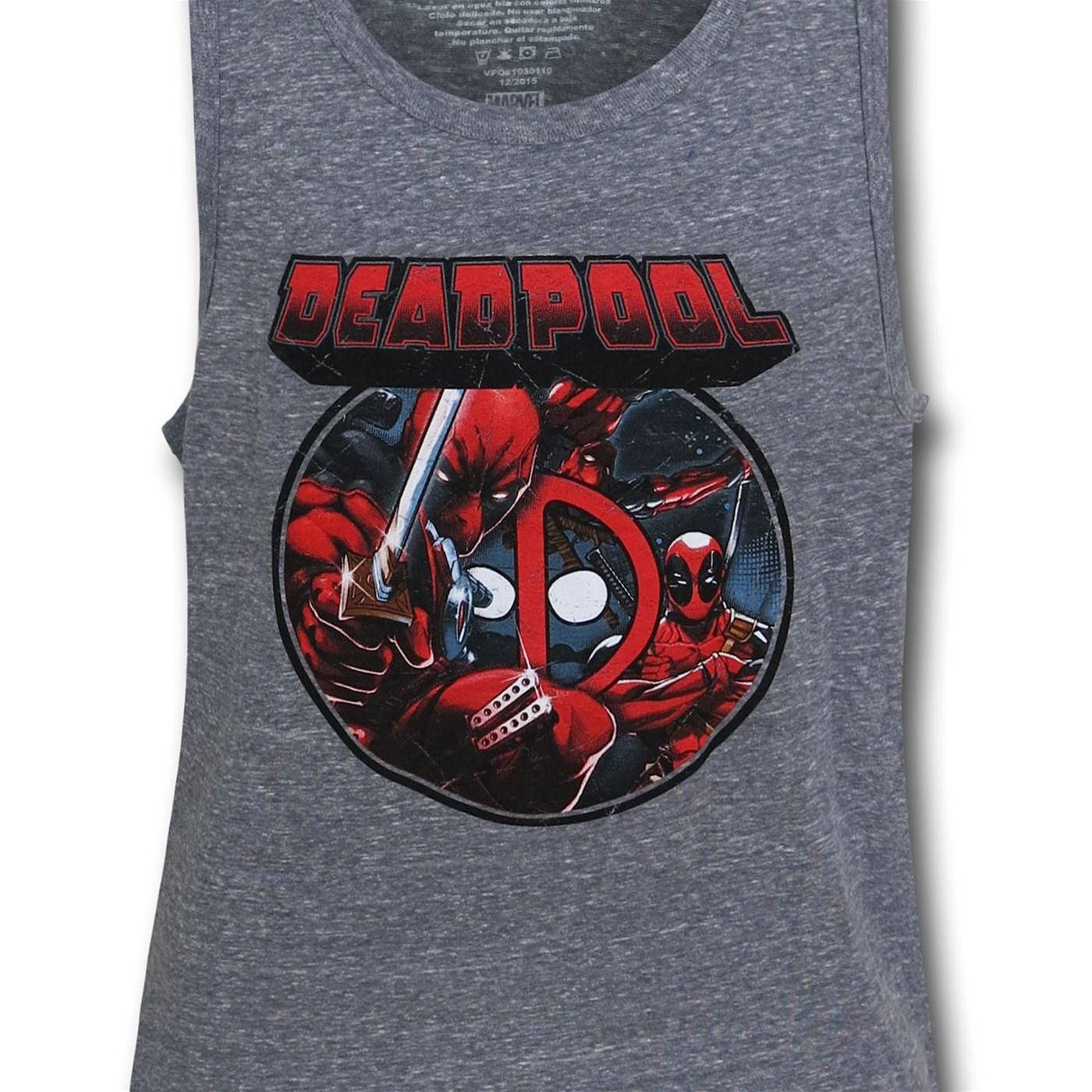 Deadpool Image Circle Tank Top