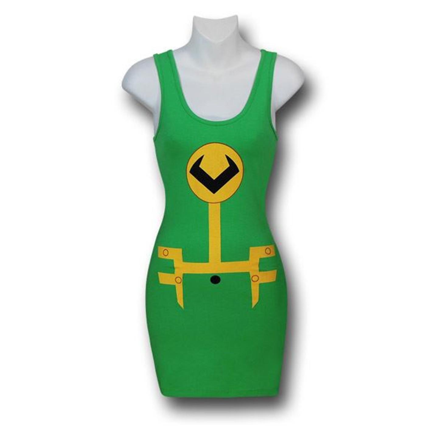 Loki Costume Juniors Tank Dress