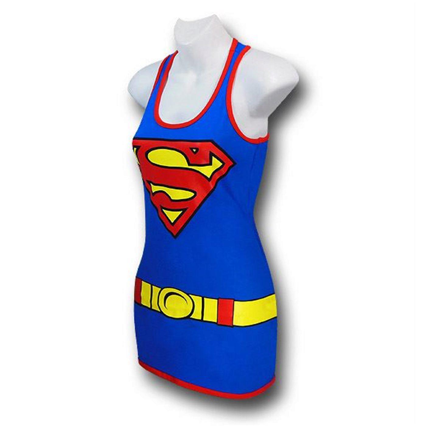 Supergirl Women's Costume Tank Dress