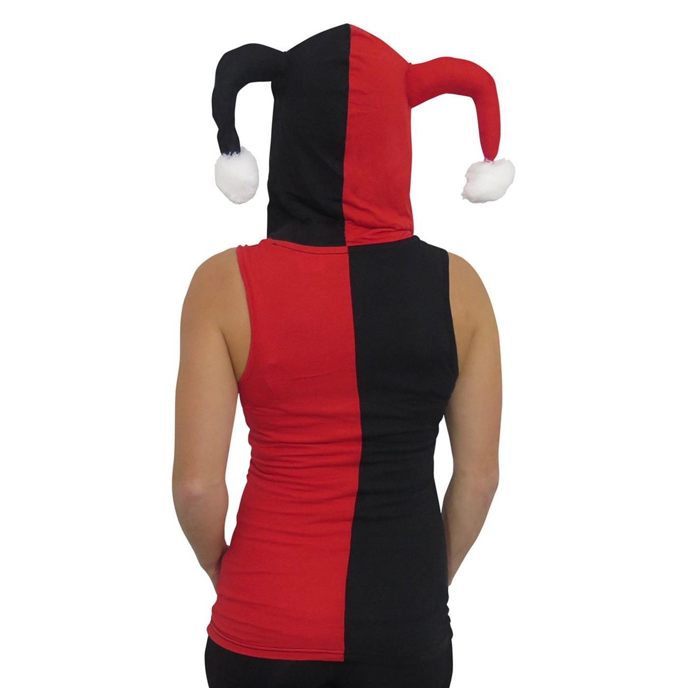 Harley Quinn Hooded Jester Tank Top