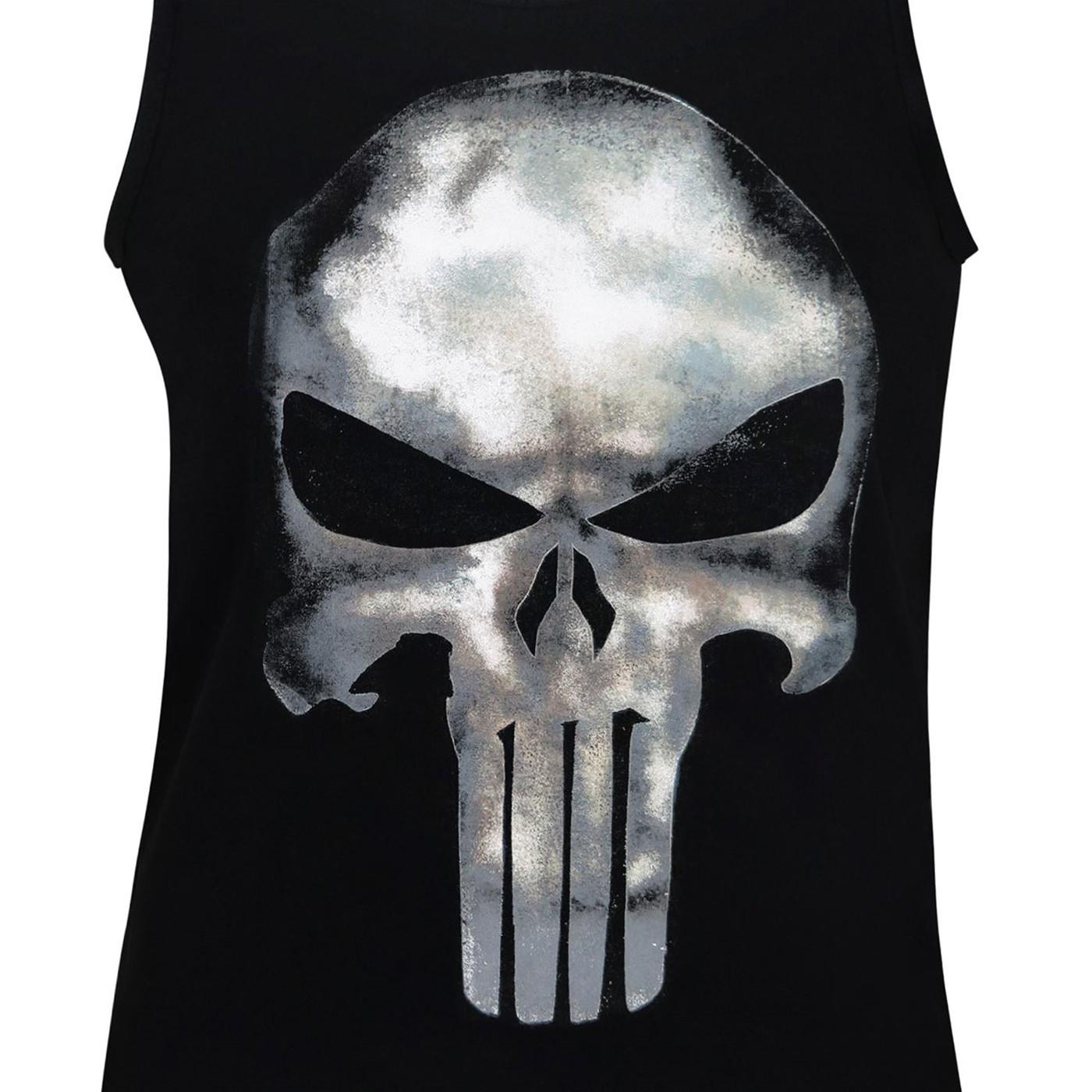 Punisher Movie Symbol Tank Top
