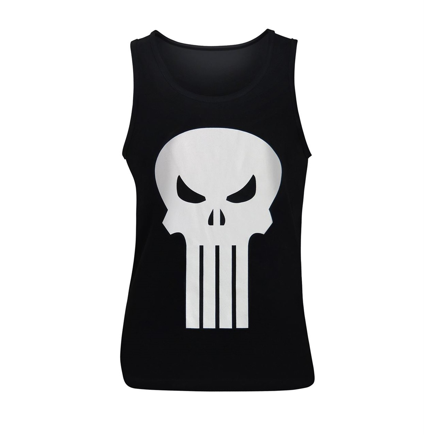 Punisher White Skull Tank Top
