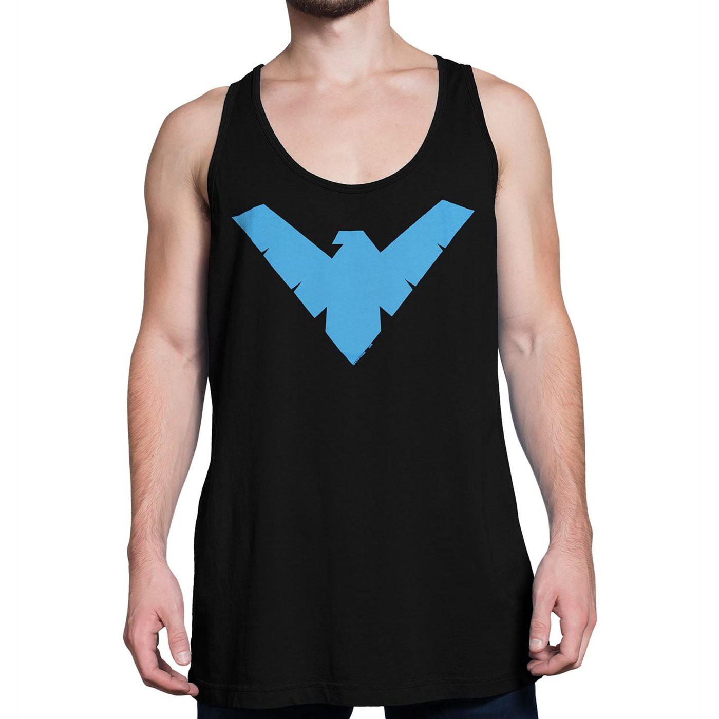 Nightwing Symbol Tank Top