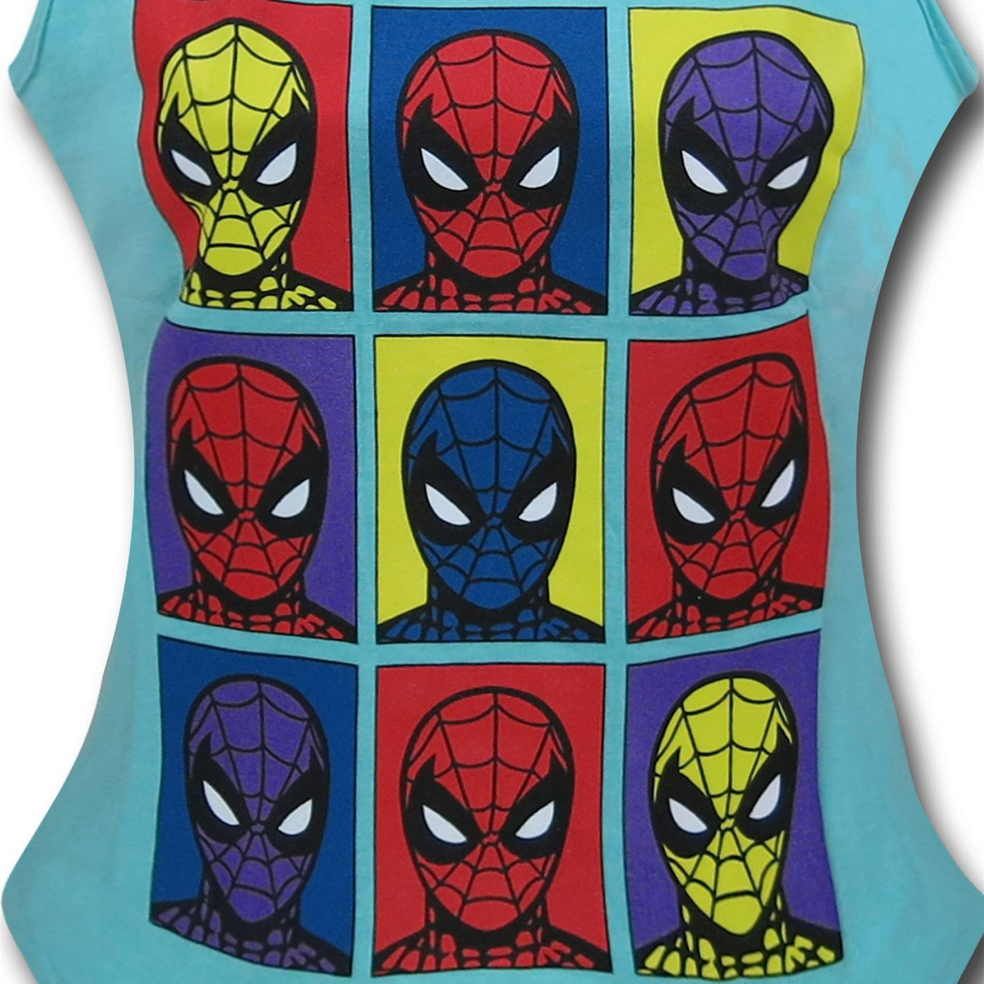 Spider-Man Pop Boxes Women's Tank Top