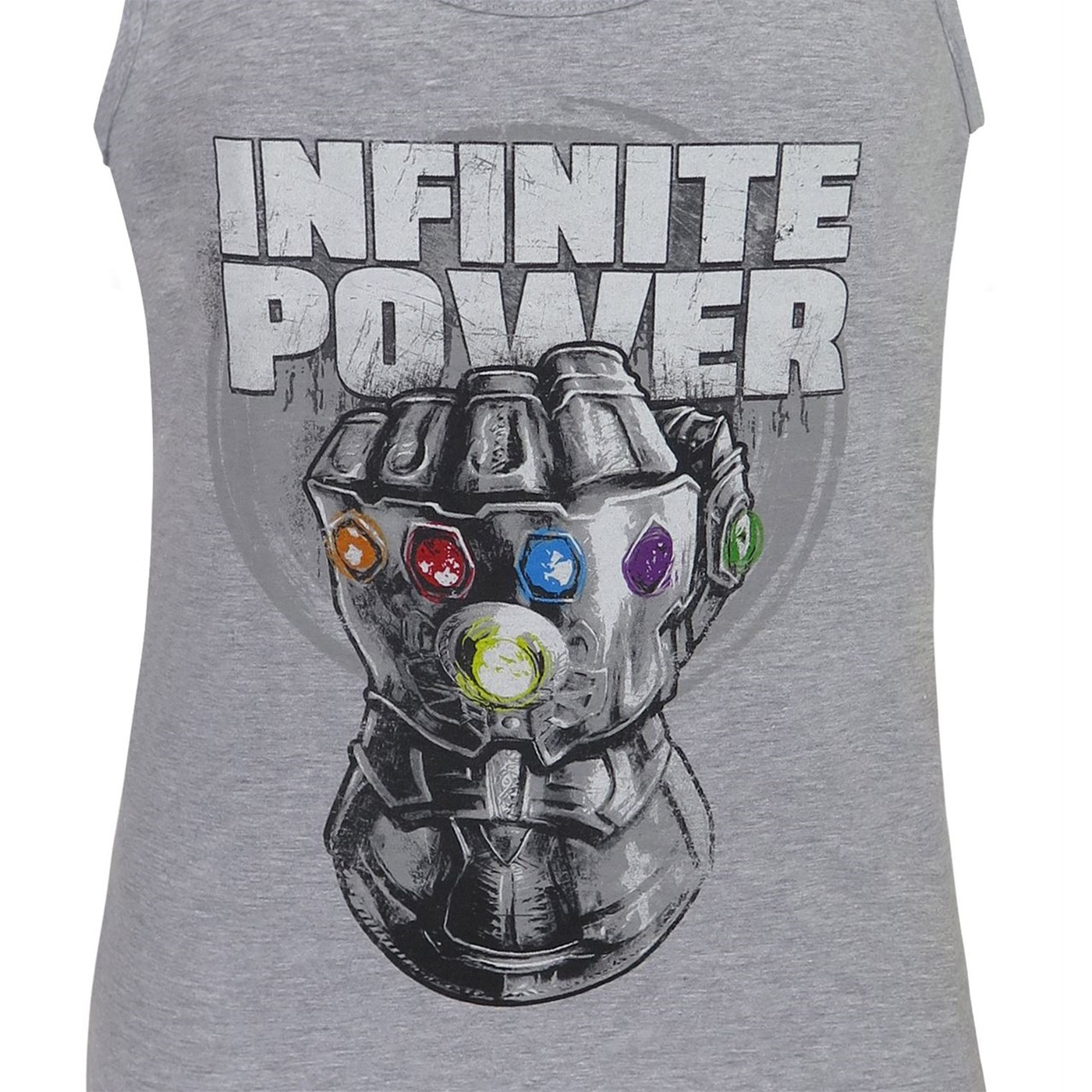 Infinity War Thanos Infinite Power Men's Tank Top