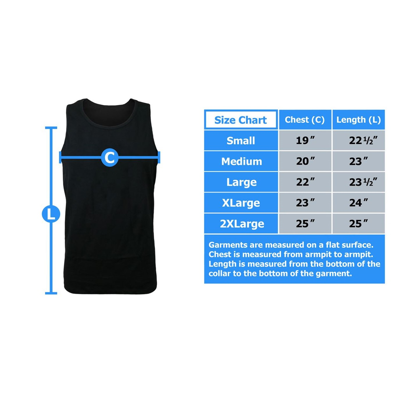 Thor Hammer Symbol Men's Tank Top