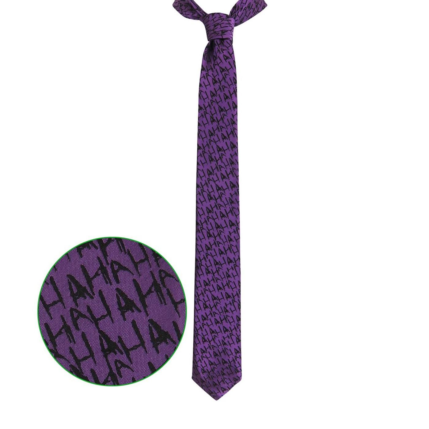 The Joker Micro Print Men's Neck Tie