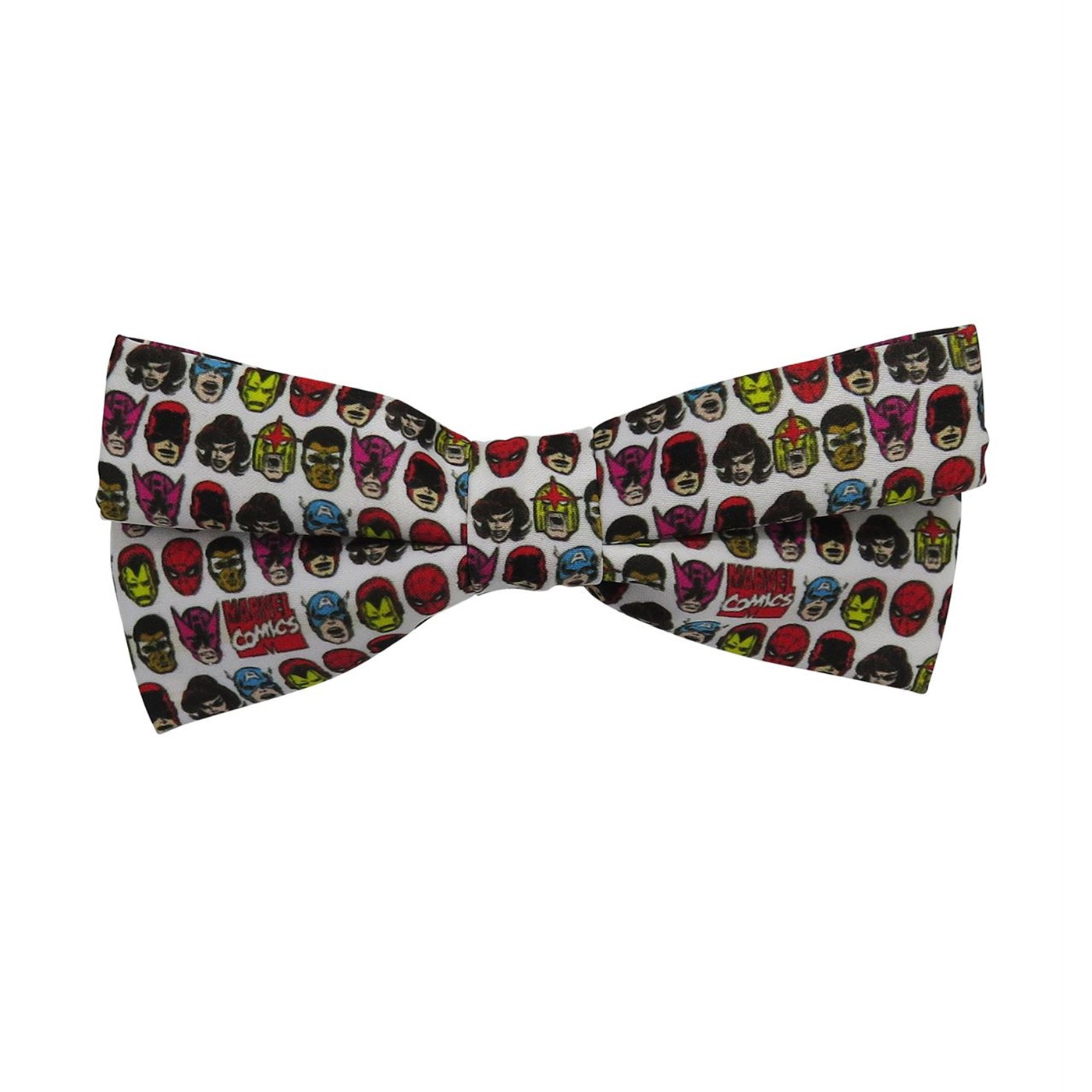 Marvel Heads All-Over Print Bow Tie