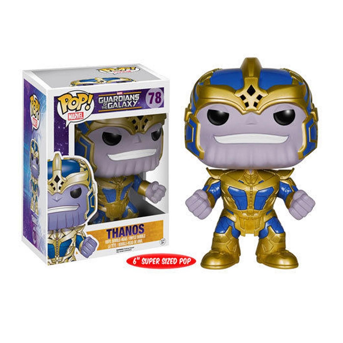 "GOTG Thanos 6"" Pop Vinyl Bobble Head"
