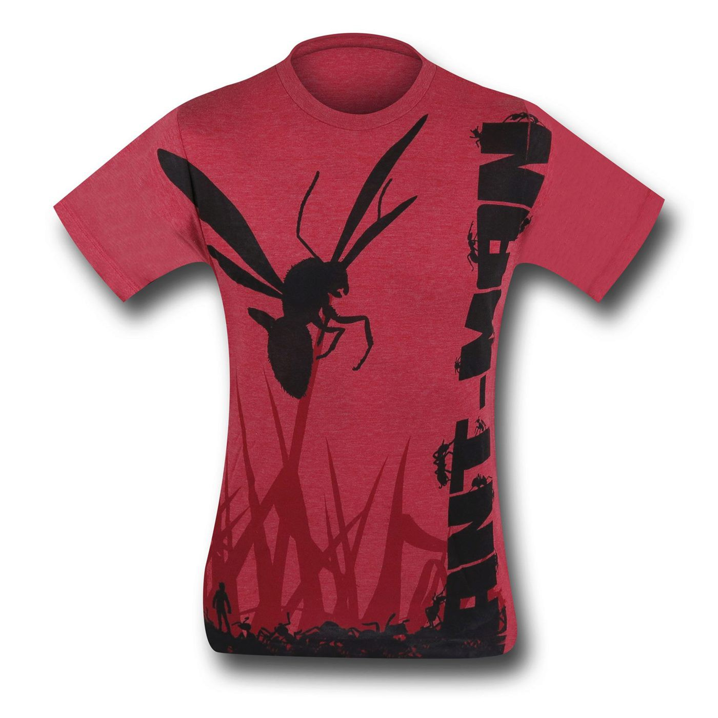 Ant-Man Sublimated Heather Red T-Shirt