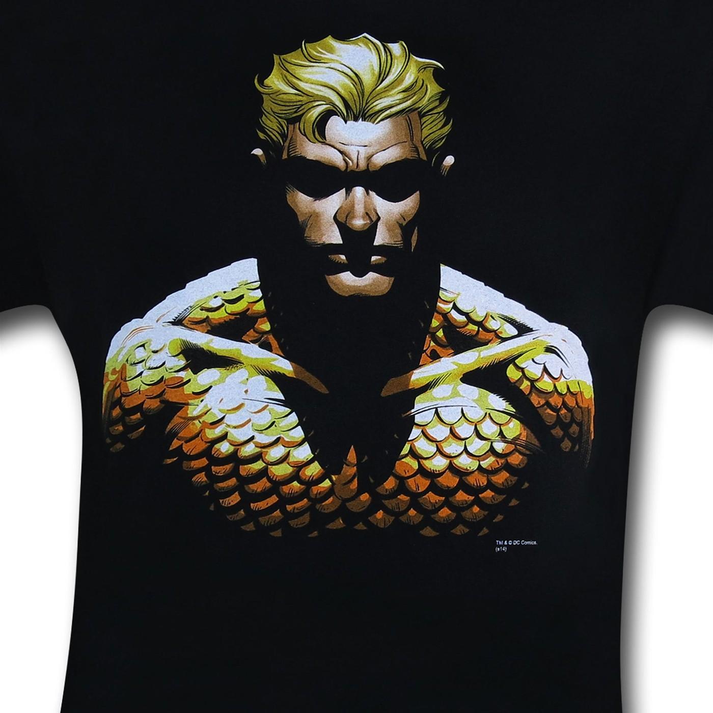Aquaman By Dean Parsons T-Shirt