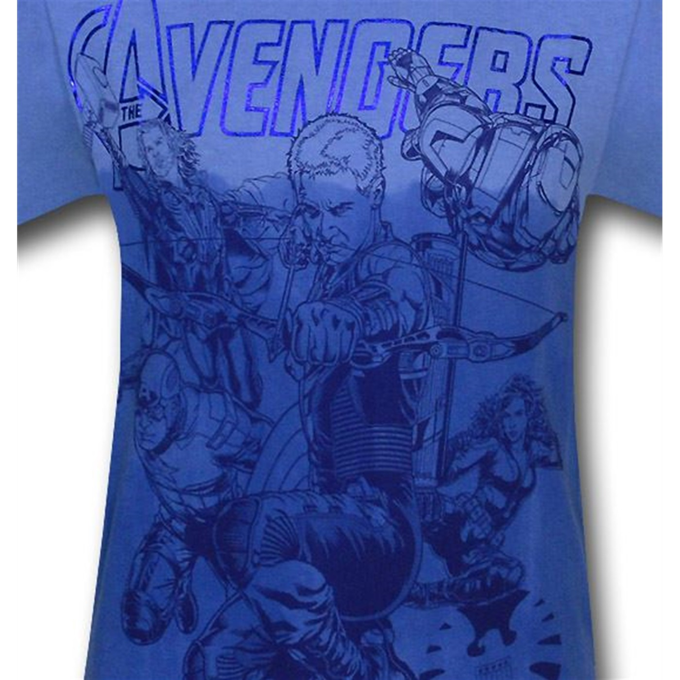 Avengers Movie Hawkeye Takes Point T-Shirt