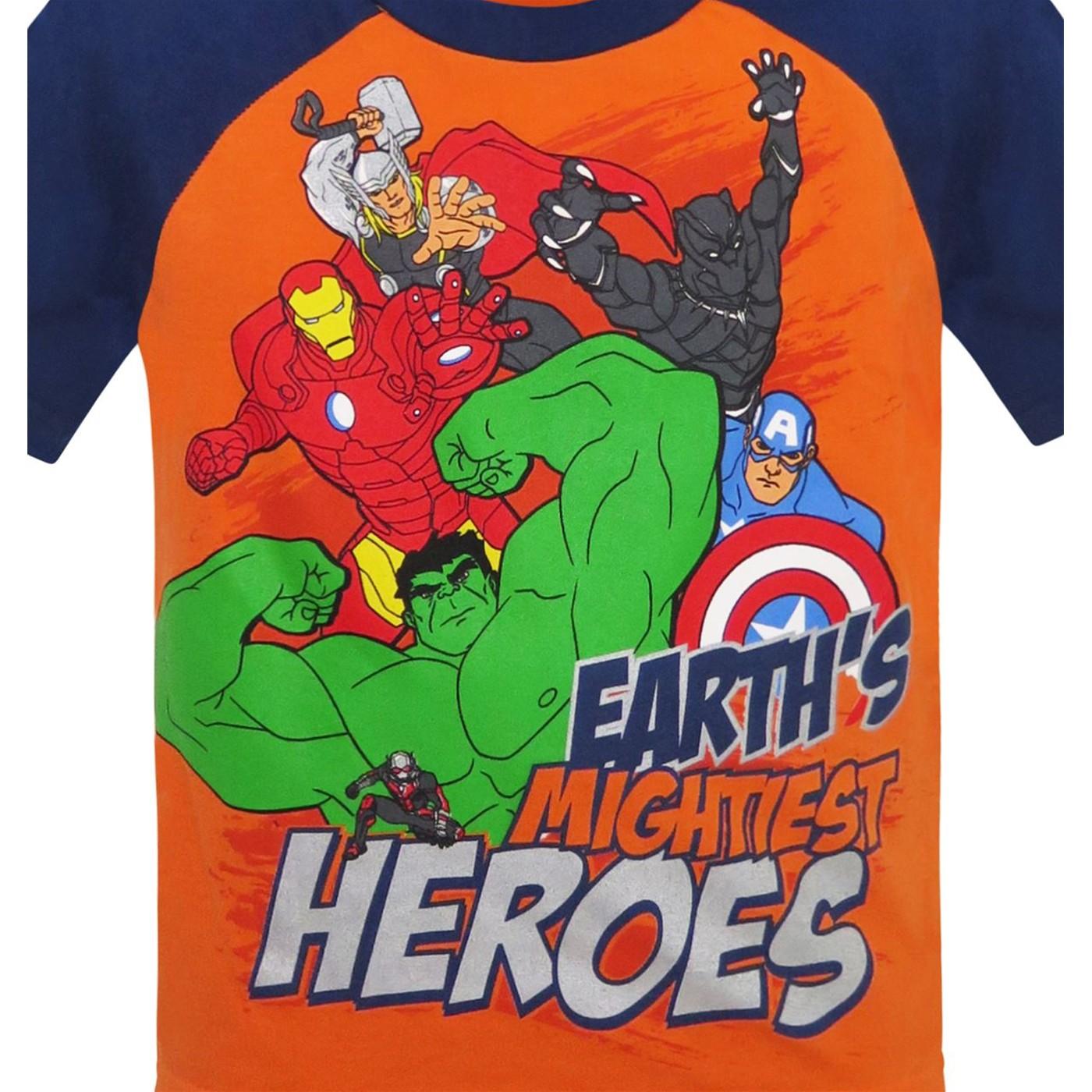 Avengers Heroes Kids T-Shirt & Sweatpants Set
