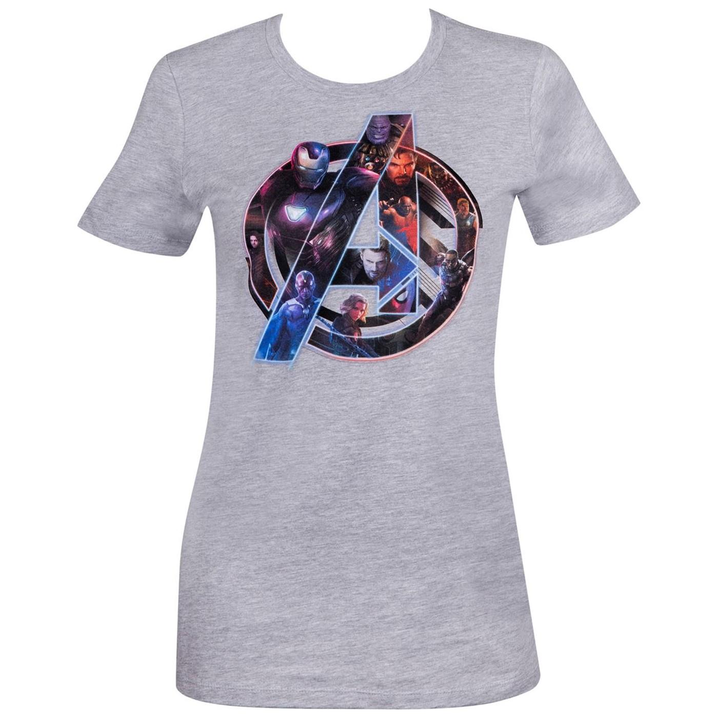 Avengers Infinity War Logo Women's T-Shirt