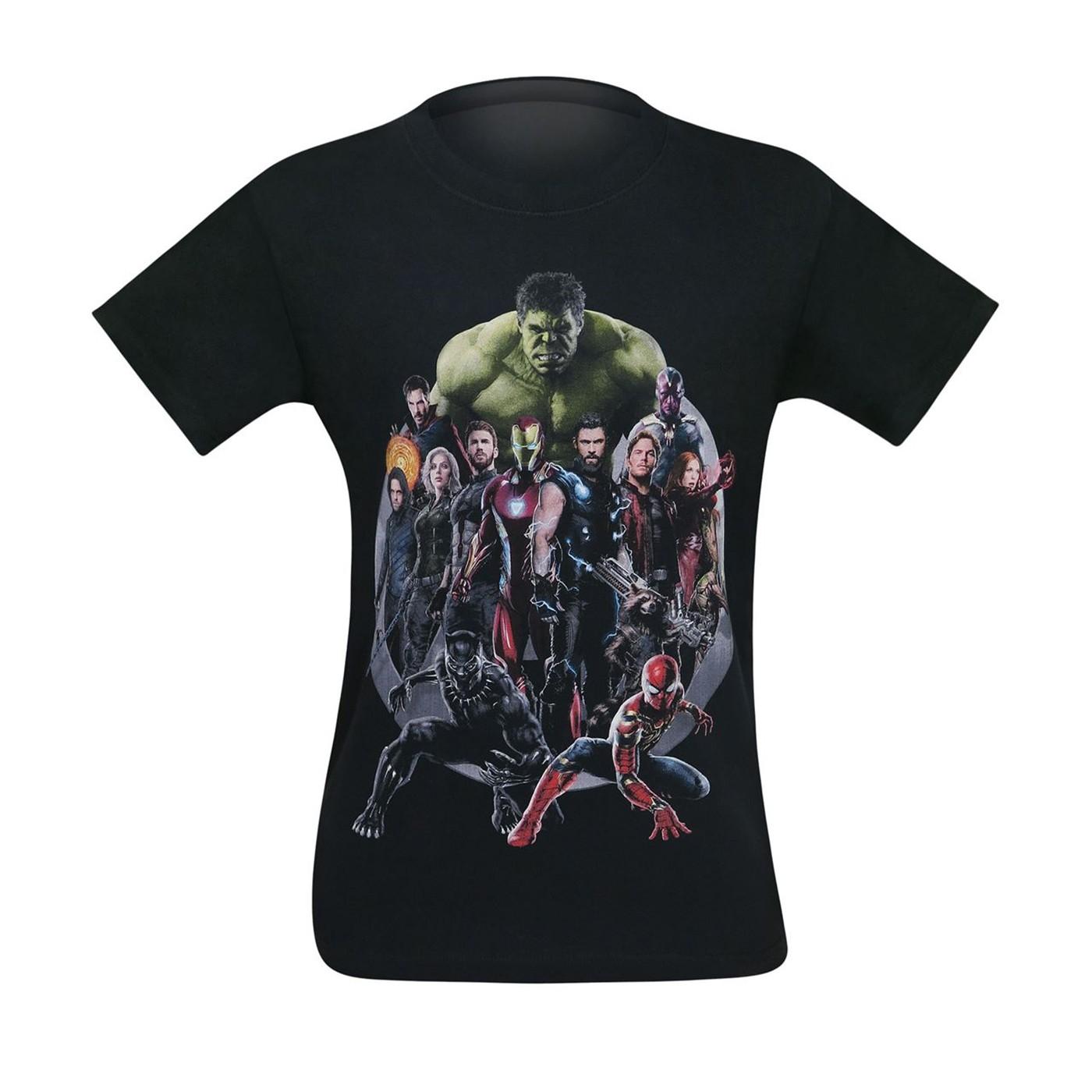 Avengers Infinity War United Men's T-Shirt