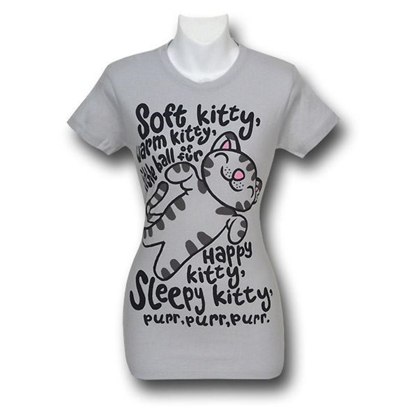 Big Bang Theory Soft Kitty Women's T-Shirt