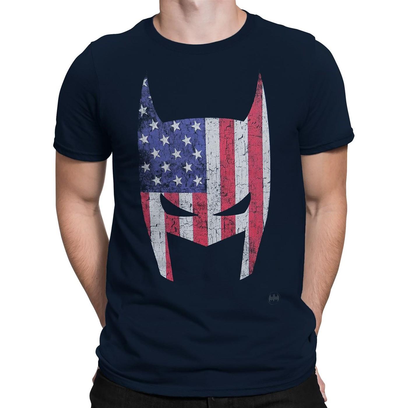 Batman American Cowl Men's T-Shirt