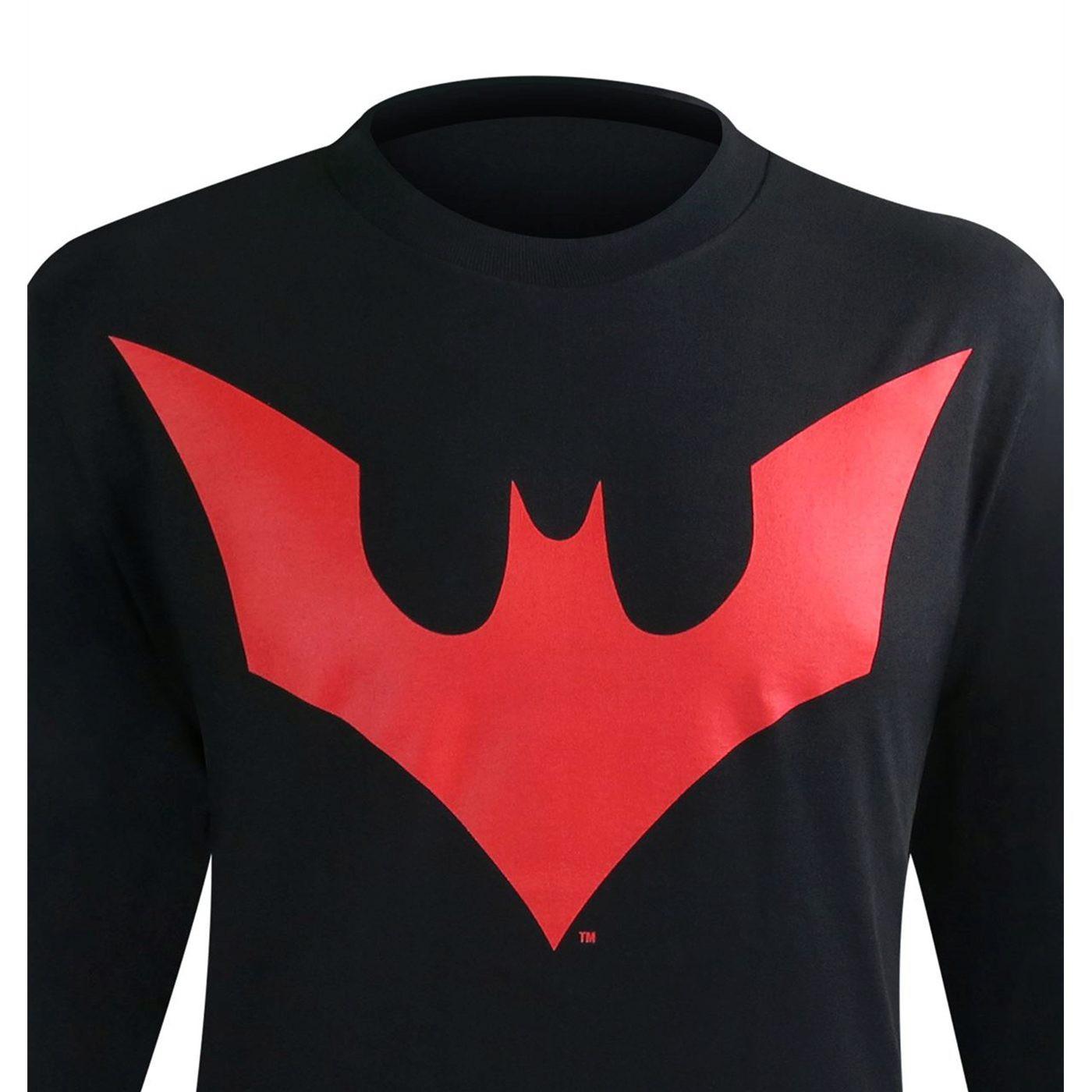Batman Beyond Symbol Long Sleeve T-Shirt
