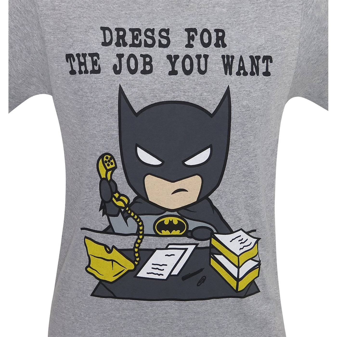 Batman Dress for the Job You Want Men's T-Shirt