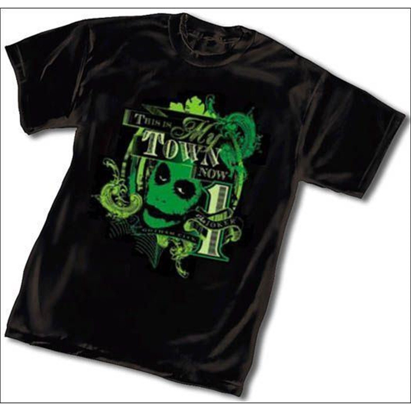 Batman Dark Knight Movie - Joker My Town Now T-Shirt -