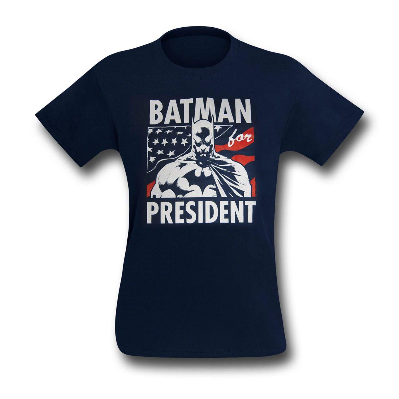 Batman for President Men's T-Shirt