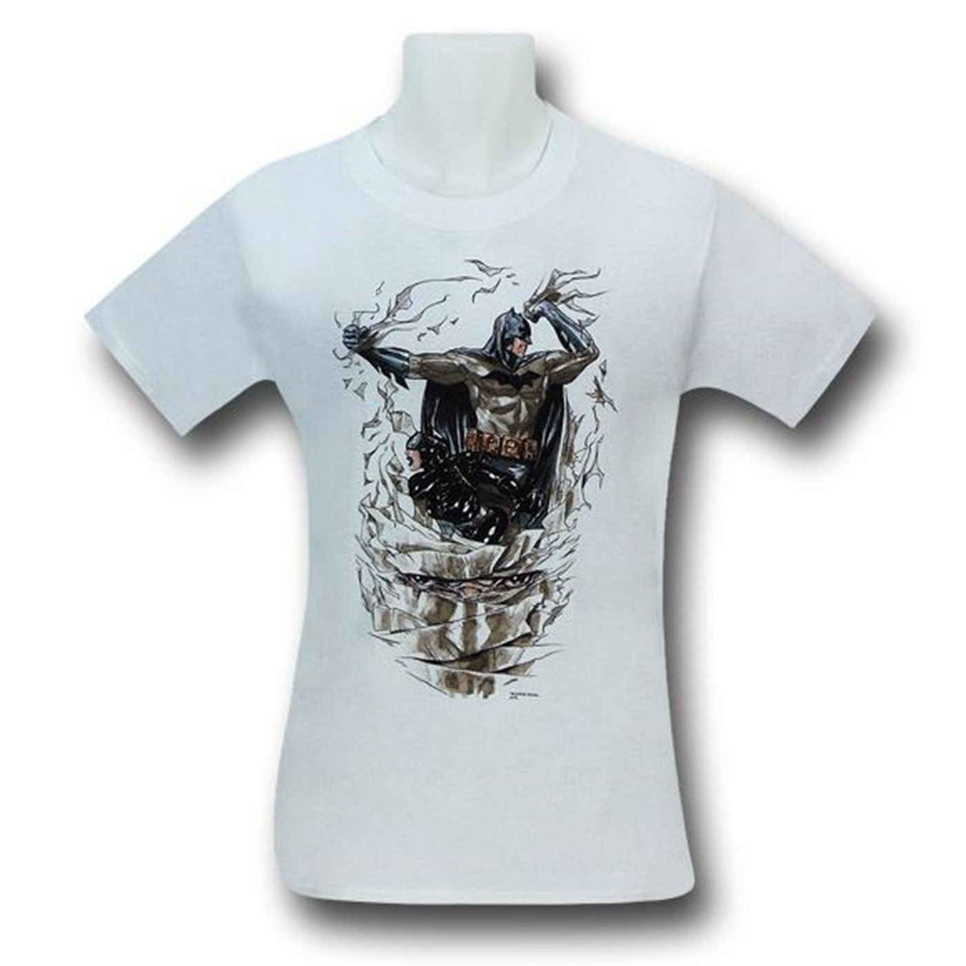 Batman Heart of Hush Cover White T-Shirt