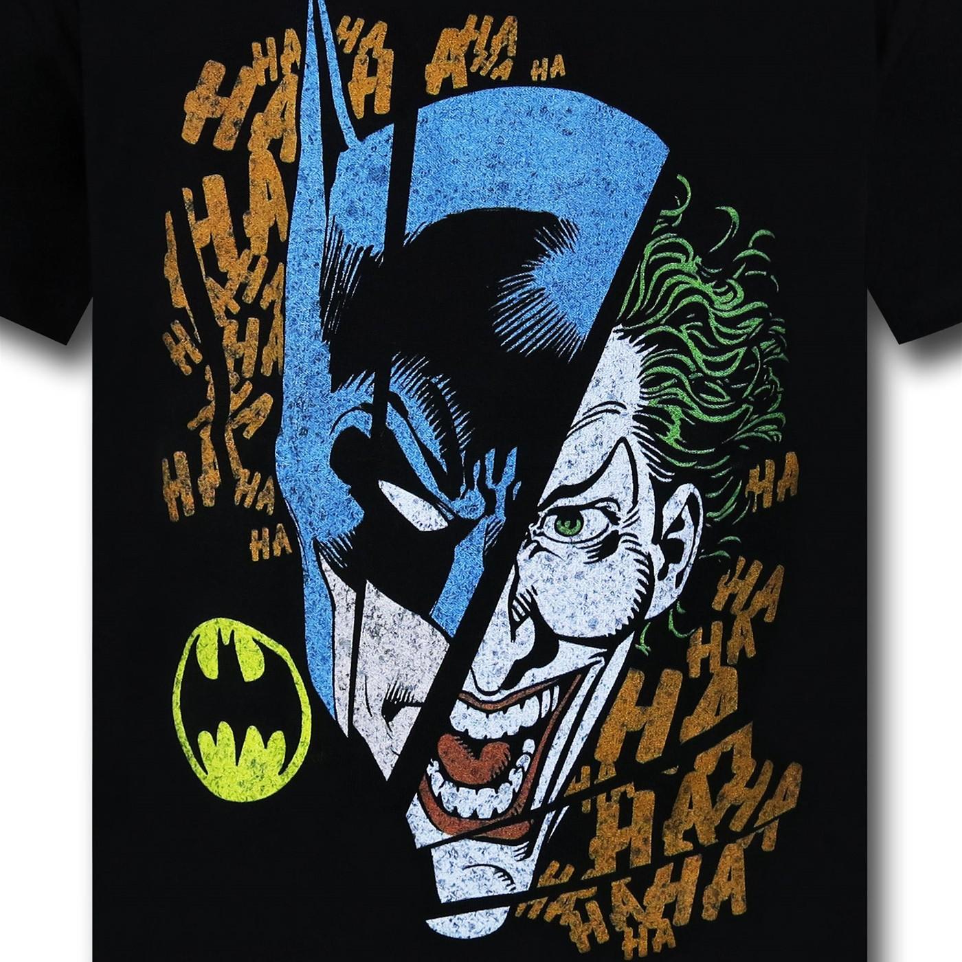 Batman Juvenile Joker Broken Visage T-Shirt