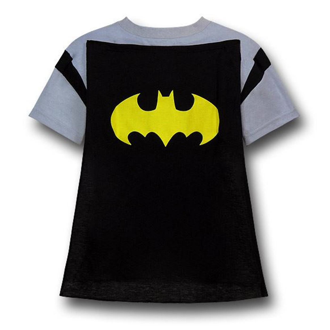 Batman Kids Grey Caped Costume T-Shirt