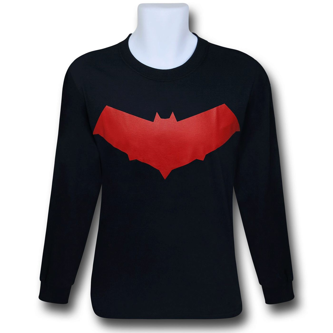 Red Hood Symbol Jason Todd Long Sleeve T-Shirt